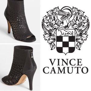 Vince Camuto Krandi Open Toe Bootie